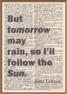 I'll Follow The Sun | The Beatles