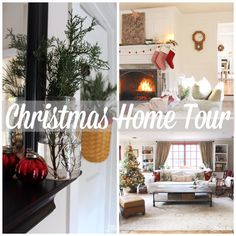 Christmas Home tour - 2015 Come check out our old farmhouse all decked out for Christmas!!!