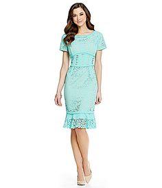fb17058c3b Antonio Melani Carmen Lasercut Dress  Dillards I Go To Work