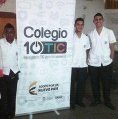 Primeros monitores Colegio 10TC IE ALFONSO LOPEZ PUMAREJO-PALMIRA