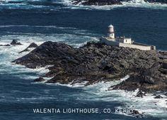 Valentia Lighthouse, Ireland, Co. Landscape Photos, Landscape Photography, Irish Greetings, Dublin, Lighthouse, Ireland, Greeting Cards, Water, Prints