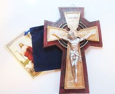 """Celtic, #irish wall #crucifix cross, nice for home & #church, 8"""",  View more on the LINK: http://www.zeppy.io/product/gb/2/301762485702/"""