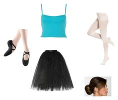"""""""My Little Ballerina"""" by beautiful-madnes on Polyvore featuring Ballet Beautiful, River Island, Bloch Dance and DKNY"""