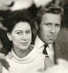 Princess Margaret and her then husband Anthony Armstrong-Jones (Britain) #britishroyalty #royalty #royals