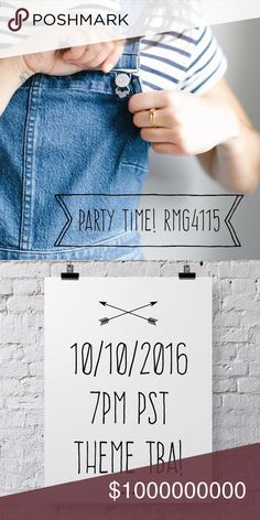 SOON! Join me 10/10/2016: my 2nd Posh Party 🎉 I'm super excited to host my second Posh Party on October 10th! Tag your favorite Posh-compliant closets here ✌🏻️ Looking for closet goodies in particular--on a mission to reuse and repurpose what's good in our wardrobes! Cover photo 📷 by Madewell. Madewell Accessories