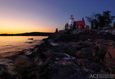 Reflecting Light - Eagle Harbor Lighthouse (Eagle Harbor, MI)