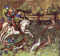 Hunting Only the rich were allowed to hunt deer. Yeoman farmers could hunt foxes but the poor were only allowed to hunt hares and rabbit.