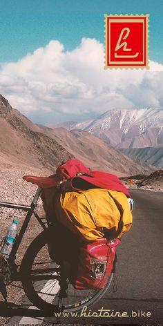 Histoire sur la route de la Soie - la traversée des Tian shan : la solitude et notre Grande Voyageuse, fidèle compagne de voyage.