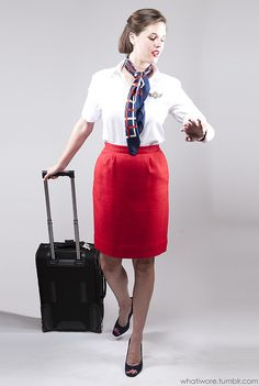 easy diy flight attendant costume