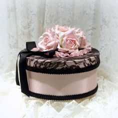 Pink Wedding Gift Box Romantic Gift Box Pink by uniqueboxboutique