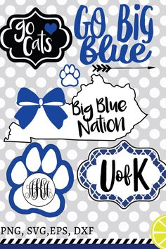 A personal favorite from my Etsy shop https://www.etsy.com/listing/481947323/university-of-kentucky-svg-kentucky