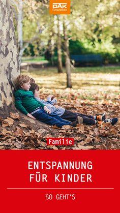 Leistungsdruck, Freizeitstress und Reizüberflutung – schon auf die Kleinsten prasselt im Alltag jede Menge ein. Wir geben dir wichtige Tipps, wie du deine Kids entspannen und das innere Gleichgewicht wiederherstellen kannst.
