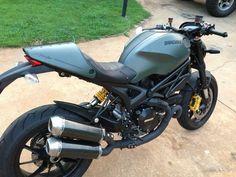 Termi's on my Diesel - Ducati Monster Forums: Ducati Monster Motorcycle Forum
