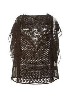 Allen embroidered silk top | Isabel Marant | MATCHESFASHION.COM