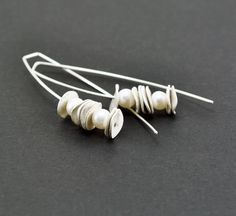 Retuculsted sterling silver earrings found on Etsy http://www.etsy.com/nl/listing/126311089/reticulated-sterling-silver-earrings
