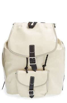 Harper Ave 'Mueck' Faux Patent Leather Backpack available at #Nordstrom