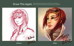 :Draw it again: Mei Lin by Clouddreamea.deviantart.com