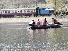 #boat #lake #train #chilling #friends #windernere