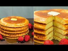 (31) Clatite americane pufoase în timp record, începe dimineața cu un răsfăț. - YouTube Beignets, Waffles, Pancakes, Romanian Food, No Cook Desserts, Cake Videos, Crepes, Food And Drink, Cooking