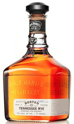 Jack Daniel's has advanced its foray into the rye whiskey category with the launch of limited edition Jack Daniel's Rested Tennessee Rye Rye Whiskey Drinks, Scotch Whiskey, Wine And Liquor, Liquor Bottles, Bourbon Liquor, Gin, Jack Daniels Distillery, Rum Bottle, Tennessee Whiskey