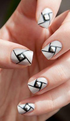 Nail Design - #accentnails #accent #nails