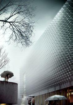 625e5f9635bfd Estudio A2T Stadium Competition by Altieri Juan Parametric Architecture