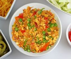 This is one of the quickest and easiest recipe that can be made from crumbled paneer.