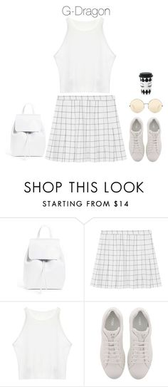 """""""Lunch with BigBang"""" by hitthisfeeling ❤ liked on Polyvore featuring Mansur Gavriel, Fendi and Victoria Beckham"""