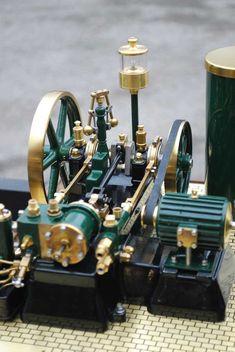 York Bolton Steam plant. Engineering Technology, Mechanical Engineering, Mechanical Design, Mini Steam Engine, Model Steam Engine, Miniature Steam Engine, Emergency Generator, Stirling Engine, Water Storage Tanks