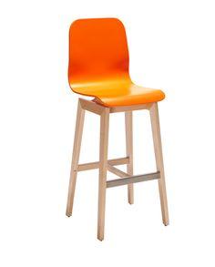 KOTO 5638 STOOL Solid beech-wood frame. Plywood seat and back. Polyurethane varnish finishes. Vergés