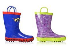 -`๏'- Splish Splash: Kids' Rainboots  http://4youngster.com/splish-splash-kids-rainboots