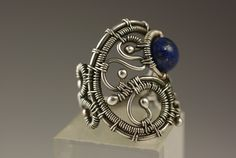 Bead Show: Bead Show Workshops & Classes: Saturday June 8, 2013: B130120 Wire-Woven Filigree Ring