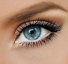 Maquillaje delicado de ojos