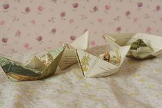 Paperboat mobile | Gingerlillytea