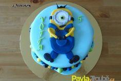 dětský dort s mimoněm