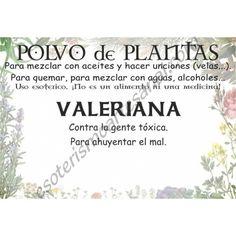 Polvo de Valeriana