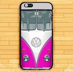 Mini bus vw chrome logo VW Violet iPhone Cases Case