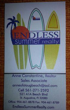 St Augustine Beach , Anastasia Island , Crescent Beach and Butler Beach