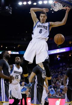 Zach LaVine Photos - Minnesota Timberwolves v Golden State Warriors - Zimbio