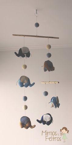 Móbile de Elefantinhos