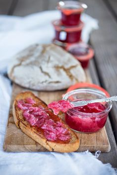 How to make Wild Rose Petal Jam...great over vanilla ice cream, on toast, or swirled into porridge, the flavor will make you swoon. | www.feastingathome.com