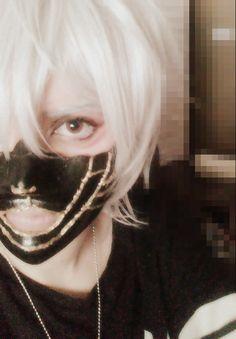 Nakigitsune Makeup and Mask