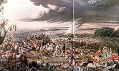 The morning after the Battle of Waterloo