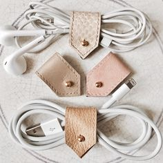 Cream, gold, nudes leather cord organiser set are now back in stock. All leathers upcycled and limited editions ♻