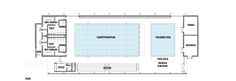 Image 11 of 16 from gallery of AISJ Aquatic Center / Flansburgh Architects. Floor Plan