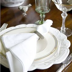 Place Setting Ideas: Use Family Pieces < How To Set a Stunning Table - Southern Living