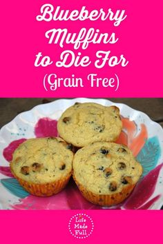 Get ready for some of the most moist muffins you've ever had! These Blueberry Muffins to Die For will amaze you!