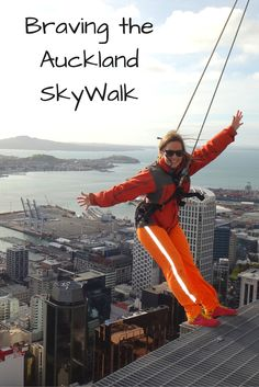Head for a walk more than 600 feet in the air, around a platform just 4 feet wide! Check out our video from the SkyWalk at Auckland Sky Tower.