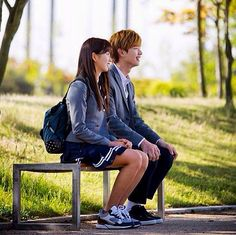 Lee Eun Bi and Gong Tae Kwang