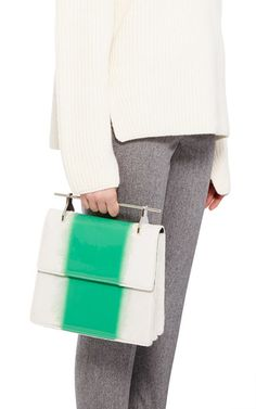 Green La Collectionneuse by M2MALLETIER for Preorder on Moda Operandi